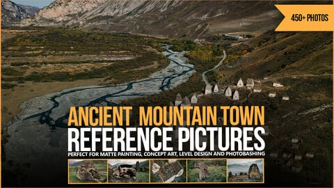 450+ Ancient Mountain Town Reference Pictures