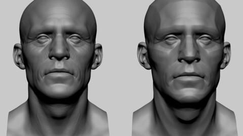 Male Head 03