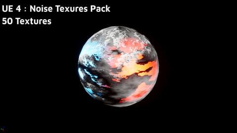 UE 4 : Noise Texures Pack