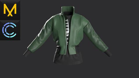 Practicle Marvelous\Clo3D.Bomber jacket.