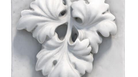 359 Plaster bas-relief