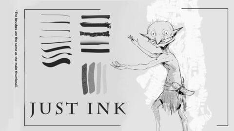 Convenient Ink Brushes