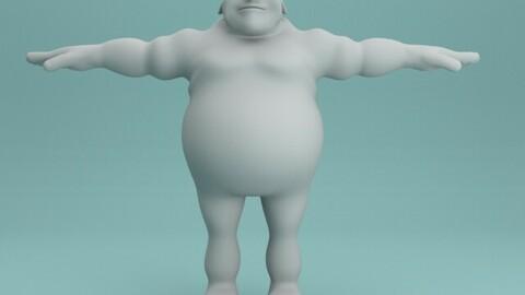 BaldMan_Character