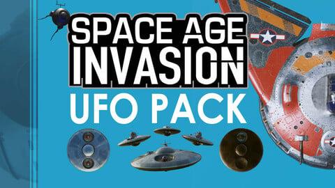 Space Age Invasion: Massive Modular Ufo Attack