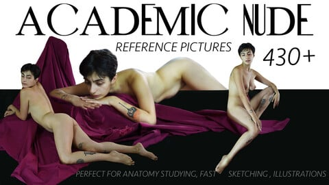 ACADEMIC  NUDE female reference pictures 430+
