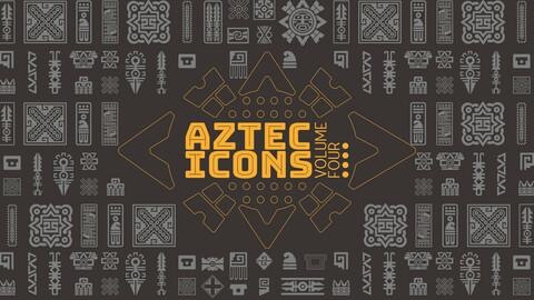 Aztec VECTOR ICONS Volume 4