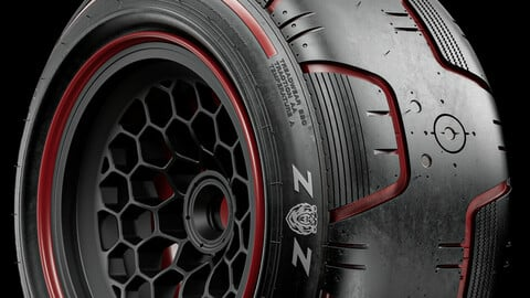 GRIZZLY Concept Tire (Not Real World)