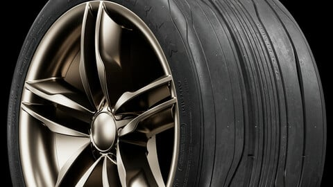 Vulture Concept Tire (Not Real World)