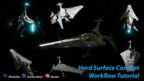 Hard Surface Concept Design Workflow