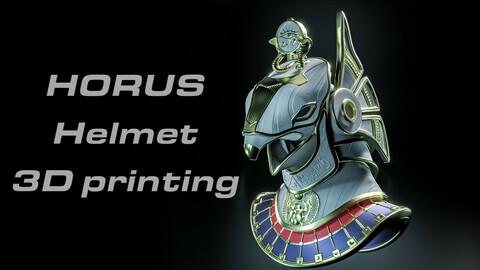 Horus Helmet - 3D printing