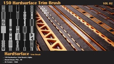 150 HardSurface Trim Brush-Vol2