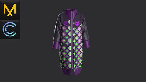 Practicle Marvelous\Clo3D.Long Jacket.