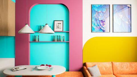 Modern Interior - UE4 | FBX | 3DS