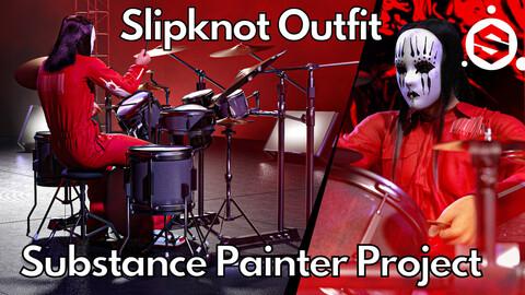 Substance Painter (.SPP) : Slipknot boiler suit