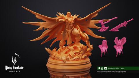Supreme Vampire Master (STL file for 3D printing)