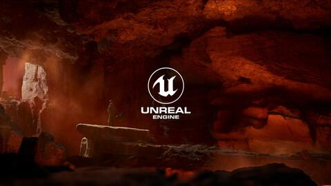 Lava Dungeon UE5