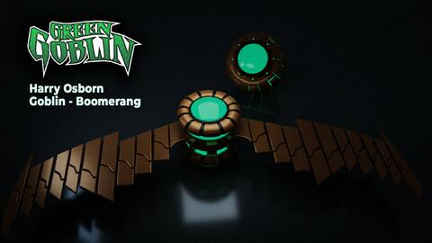 Spiderman Green Goblin Boomerang Weapon
