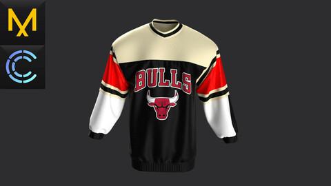 Practicle Marvelous\Clo3D.Sweatshirt.Chicago.Bulls.