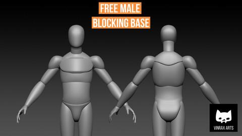 Male Blocking Base