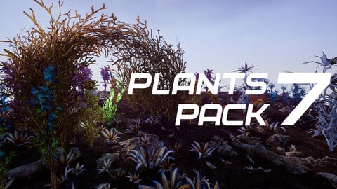 Plants Pack 7 for UE4