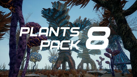 Plants Pack 8 for UE4