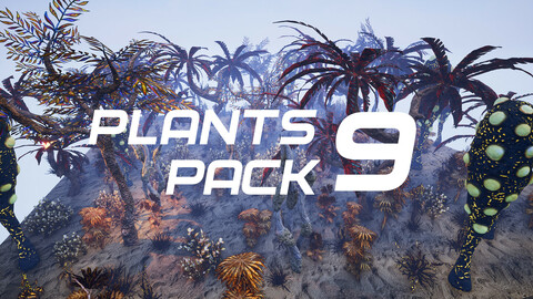 Plants Pack 9 for UE4