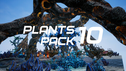 Plants Pack 10 for UE4
