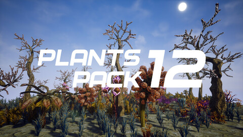 Plants Pack 12 for UE4