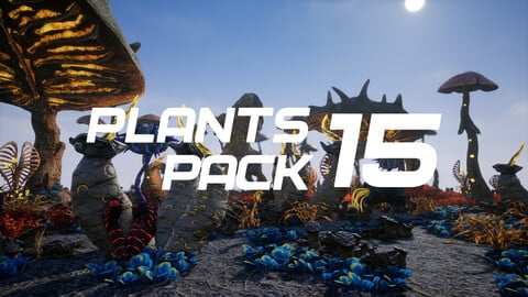 Plants Pack 15 for UE4