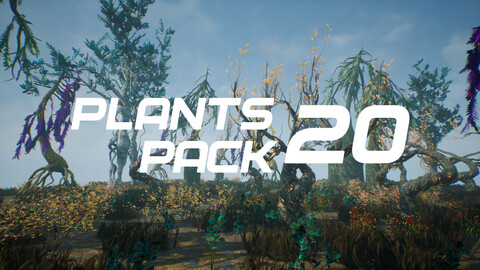 Plants Pack 20 for UE4