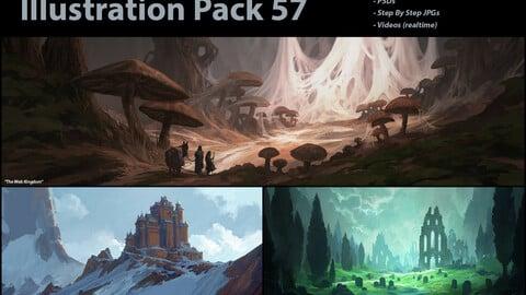 Illustration Pack 57 (not a stock asset)