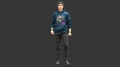 Male Outfit . Clo3D , Marvelous Designer .
