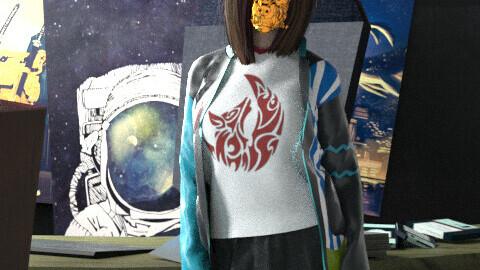 higghschool hacker outfit