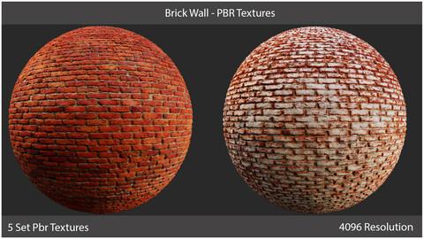 Brick Wall - PBR Textures
