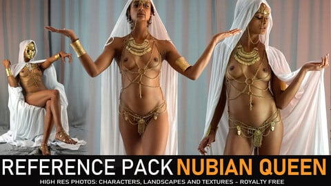 Nubian Queen 500+ Images. Outfit variations.