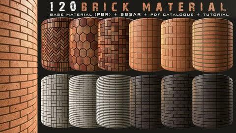 120 brick material bundle vol1