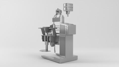 Robocop Chair for 3D printing 3D print model