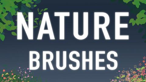 18 Nature Brushes - Procreate