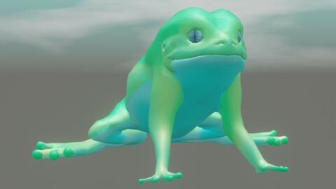 frog  Phyllomedusa sauvagii