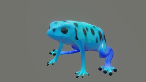 frog dendrobates azureus