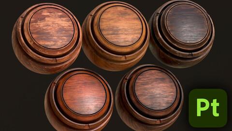 5 Wood Smart Materials - Artstation Marketplace