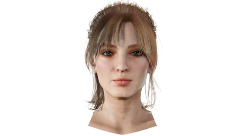 Olivia Realistic model of female head
