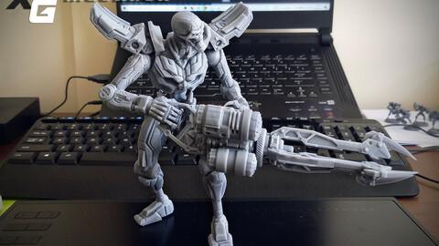 Mechron 1/10 Scale 3D Printable