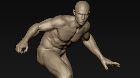 Male Full Body Sculpt Pose 13