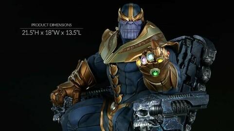 Thanos Washed - MARVEL