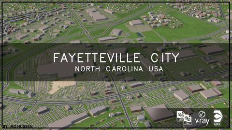 Fayetteville city North Carolina USA  (Full city)