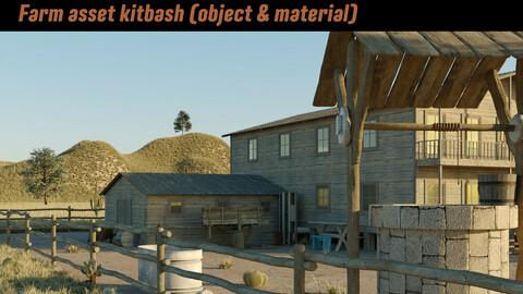 Farm asset kitbash