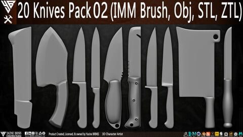 20 Knives Pack 02