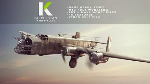 WW2 Bomber Plane