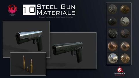 Steel Gun Materials